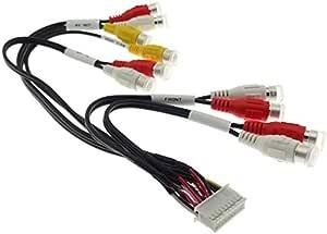 Kenwood Kvt Kabel Video Rückfahrkamera Verstärker Adapter Endstufe Cinch Stecker Elektronik