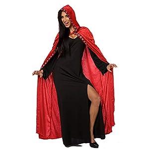 MORPH OMPAL86698 - Disfraz de vampiro para mujer, talla única, color rojo