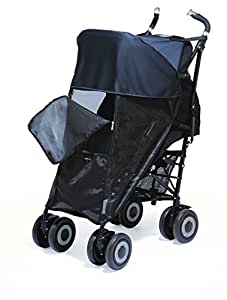 Shade-a-Babe Buggy Sunshade Black/Black Trim
