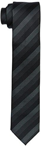ck Calvin Klein Herren Krawatte Slim 6.4 cm, Schwarz (Black 001), One size