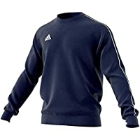 Adidas Football App Generic, Sweatshirt Long Sleeve Uomo, (Blu Scuro/Bianco), S