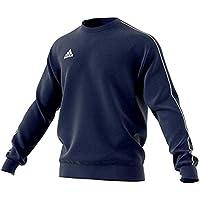 Adidas Football App Generic, Sweatshirt Long Sleeve Uomo, (Blu Scuro/Bianco), S