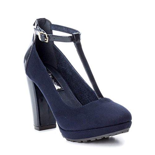Xti 030479, Escarpins pour femme Bleu