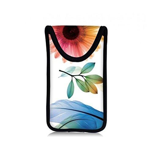 MySleeveDesign Smartphone Hülle Handy Tasche (u.a. passend für Samsung Galaxy S4 & S5 mini , HTC one , Sony Xperia Z1 Compact & Z3 Compact uvm.) - VERSCH. DESIGNS - Sunflower (Sonnenblumen-handy-hülle Für S4)
