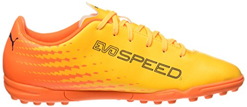 Puma Herren Evospeed 17.5 Tt Fußballschuhe, 42 EU Gelb (ultra yellow-peacoat-orange clown fish 03)