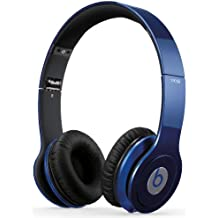 Beats By Dr. Dre Solo HD - Auriculares de diadema abiertos (con micrófono, control remoto integrado), azul oscuro