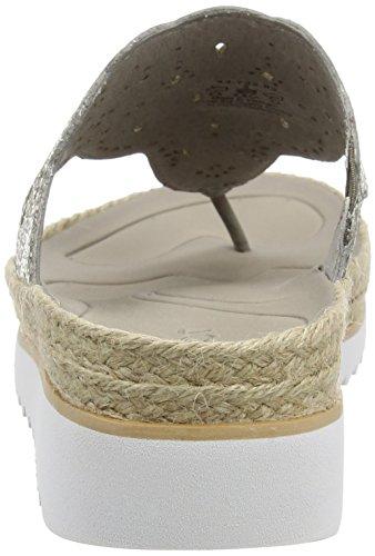 GaborSpizzy - Sandali donna Marrone (Brown Snake Glitter Leather)