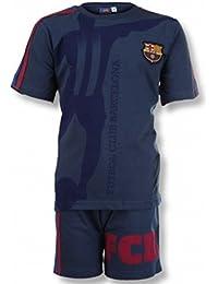 FC Barcelone - Pyjama FC Barcelone enfant dans coffret Taille 8 à 14 ans - 8 ans,10 ans,12 ans,14 ans