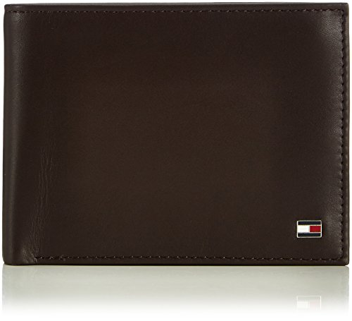 Tommy Hilfiger ETON CC AND COIN POCKET BM56924735 Herren Geldbörsen 13x10x2 cm (B x H x T) Braun (BROWN 204)