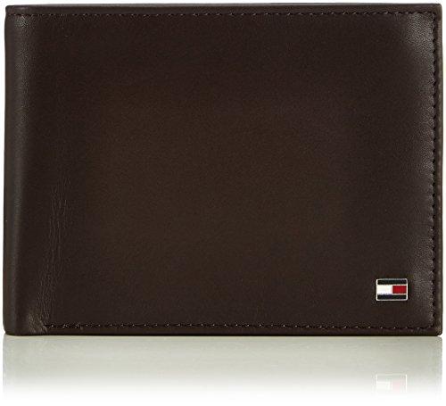 Tommy Hilfiger Herren ETON CC AND COIN POCKET Geldbörsen, Braun (BROWN 204), 13x10x2 cm