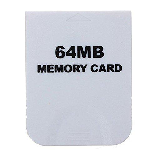 64 MB Speicherkarte Weiß für Nintendo Wii & Gamecube