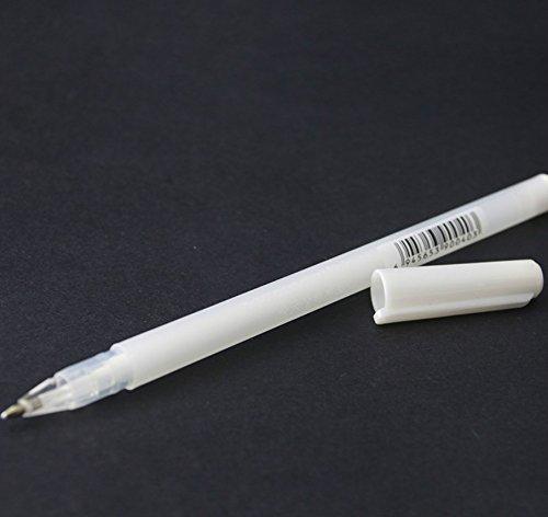 HNBGY Dauerhaft Schwarz Karton Fein Permanent Marker (weiß)