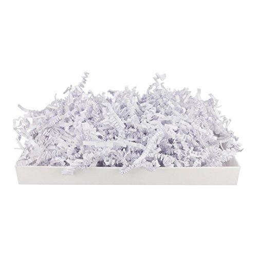 1 kg SizzlePak 200, Weiß, weißes Füll- und Polsterpapier zum Füllen, Polstern, Ausstopfen, Dekorieren