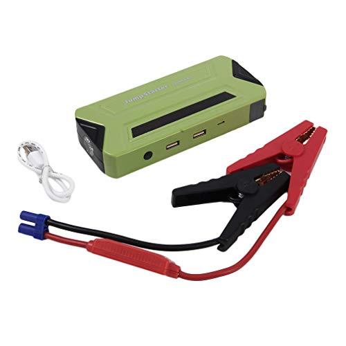 Avviatore di Emergenza per Auto Booster 500A 13600mAh Starter Batteria Auto per Motori Benzina fino a 4L e Diesel da 2L Torcia LED Incorporata, come Caricabatteria per Cellulare Tablet / Moto