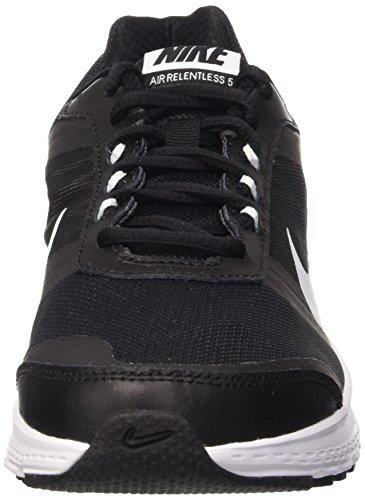 Nike Herren Air Relentless 5 Sport & Outdoorschuhe schwarz (Black/White-Dark Grey-Volt)
