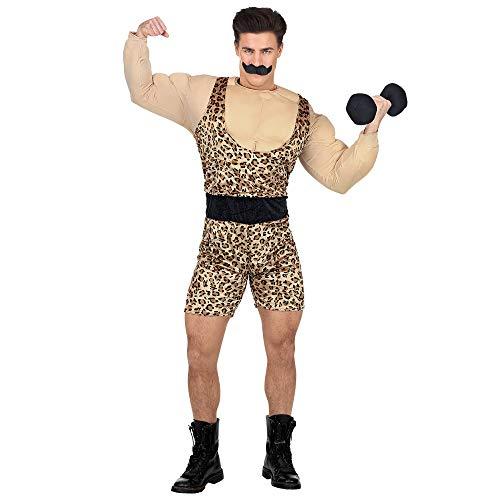 Erwachsenenkostüm Starker Mann (Karneval Starker Mann Kostüm)