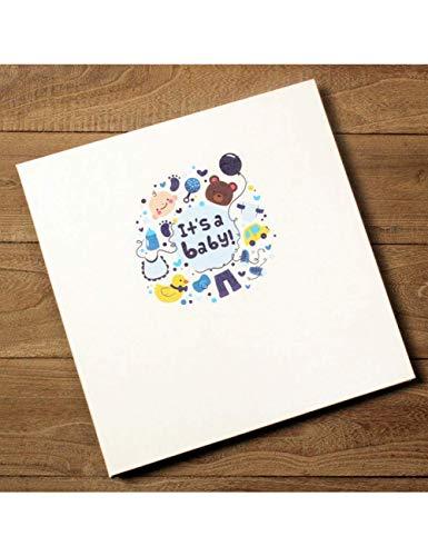 WJSWX Album Plastikfolie Schützen DIY Album Handgemachte Selbstklebende Familienalbum Baby Liebhaber Romantische Geburtstagsgeschenke Hochzeit Versorgung (Chart-papier Sticky)