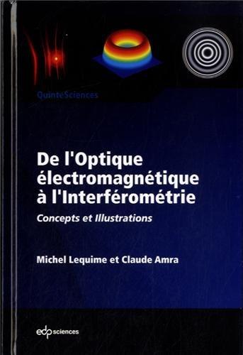 De l'optique électromagnétique à l'interféromètre : Concepts et illustrations