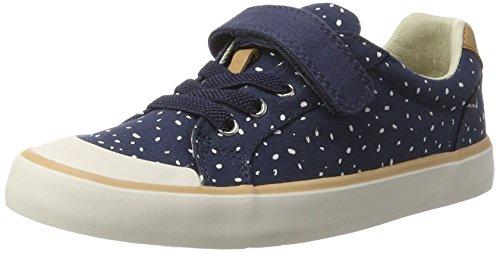 Clarks Comic Max, Sneakers  Fille Bleu (Navy)