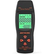 Meterk EMF Meter Detector de radiación de campo electromagnético Mini Digital LCD EMF Detector Dosímetro Tester