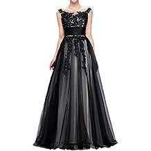 sunvary a-line Retrato Encaje appliques vestidos de fiesta Prom Fiesta de madre de la