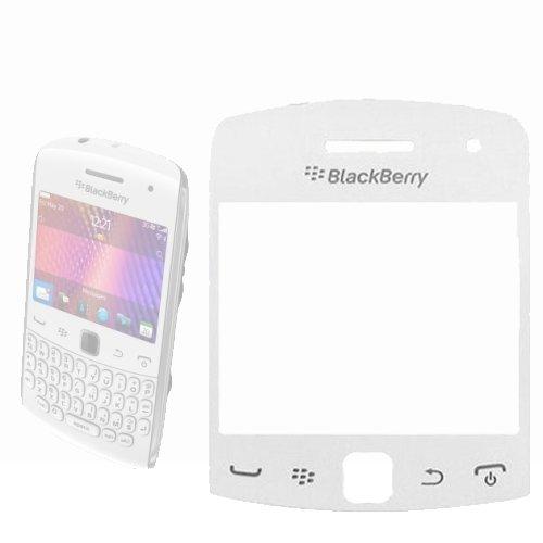 Blackberry 9360Curve Ersatz Bildschirm Objektiv in weiß-ersetzen Ihre beschädigten/Top Blackberry Curve Fall
