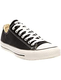 Converse Chuck Taylor All Star - Zapatillas de Lona con Parte Superior Baja, Negro (Negro), 6 B(M) US Women / 4 D(M) US…