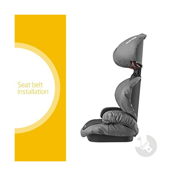Maxi-Cosi Rodi SPS Child Car Seat, Lightweight, Side Protection System, 3.5-12 Years, 15-36 kg, Slate Black Maxi-Cosi Forward-facing car seat for children from 15 to 36 kg (approximately 3.5 to 12 years) Side protection system offers optimal protection against side impact Easily adjustable in height to suit a growing child 2