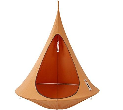 CACOON-Single--Tiendas-colgantes-color-naranja--para-un-Adulto-o-1-hasta-3-nios-dimetro-150-cm
