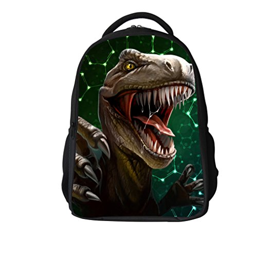Mochila escuela dinosaurio 3D niños Animal Print
