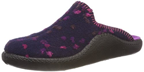 Romika Damen Mokasso 139 Pantoffeln, Mehrfarbig (Lila-Kombi 571), 37 EU