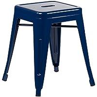 SKLUM Taburete LIX Azul Marino - (Elige Color)