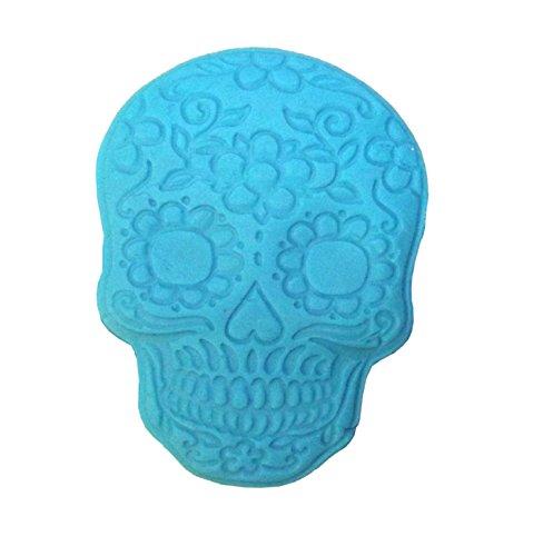 dias de los muertos Mexican Sugar Skull Silikonform Mold Totenschädel, Schädel
