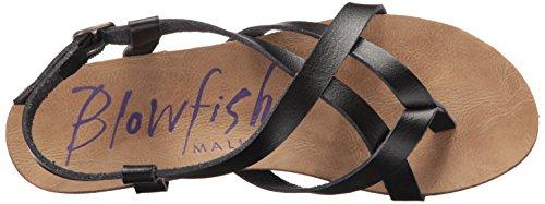 Blowfish Womens Granola Fisherman Sandal Noir/similicuir PU