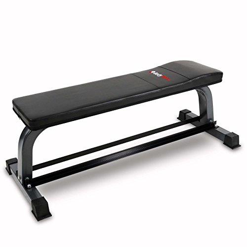 Bodymax CF302 Flat Bench with Dumbbell Rack