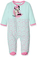 Disney Baby Girl's 16-2124 TC Sleepsuit, Turquoise, 12 months (Manufacturer size: 74 cm)