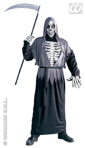 Reaper Kostüme Grim (KOSTÜM - GRIM REAPER - Größe 54)