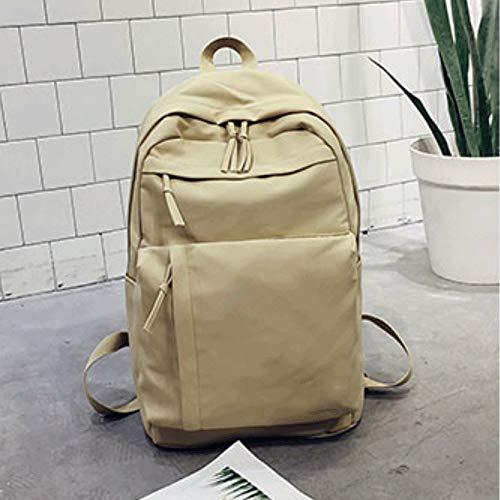 sac à dos Sac d'école Version coréenne du Harajuku Nouveau Sen Super feu (Kaki)