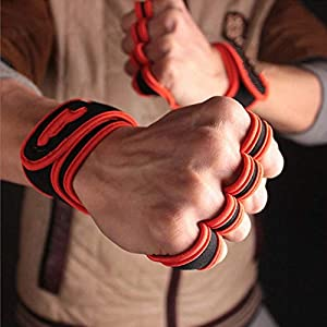 RFGHATG Wristband Man Power Gewichtheben Handschuhe Gym Finger Set Wrist Tunnel Weightlifting