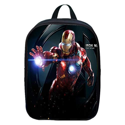der Schulrucksack, Jungen/Mädchen Bookbag Schultaschen Für Alter 2-6 Kinder,Ironman(A)-30 * 22 * 8cm ()