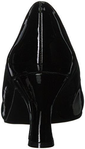 Pleaser Damen Jenna-01 Pumps Black (Blk Pat)