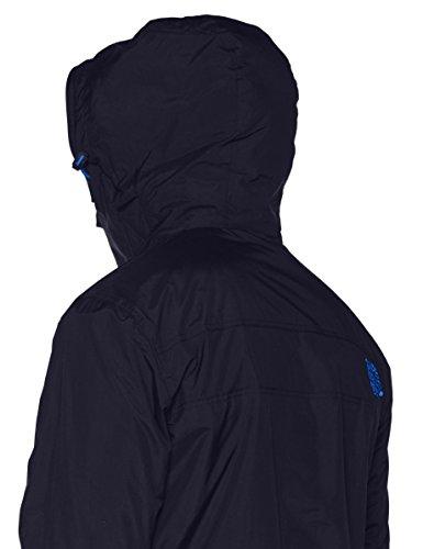 Superdry Herren Sportjacke Pop Zip Hood Arctic Wndcheater Blu (Deep Marine/Mid Blue)