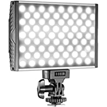 Neewer 144 LED PT-15B PRO Panel de luz de video regulable cámara/videocámara ultra delgado Bi-color temperatura de 3200 K - 5600 K luz del LED para Canon Nikon Sony Pentax Panasonic Olympus DSLR