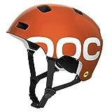 POC, Casco da ciclismo Crane Mips, Arancione (Iron Orange), 59-62 cm