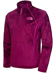 The North Face Chaquetas G Mossbud 1/4 Zip Purple Xs Junior