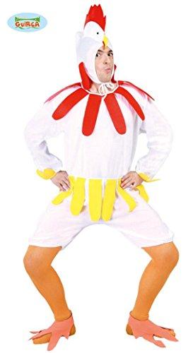 Huhn Kostüm für Erwachsene in Gr. M/L, (Kostümen In Huhn)