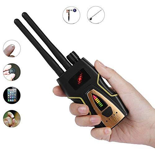Stcamtancq Detektor Signal RF Signaldetektor Bug Kamera Detektor GPS Signal Detektor für Kamera Gerät Finder,Ultrahohe Empfindlichkeit,Schwarz,T8000 - Dual-band Cdma
