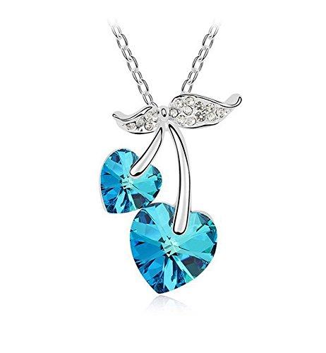 collier-avec-bleu-pendentif-coeur-jumelles-construites-avec-cristal-swarovski-or-blanc-18-carats-ter