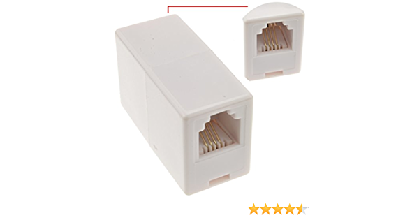 Kenable Rj11 Zum Rj 11 6p4c Kupplung Für Adsl Elektronik