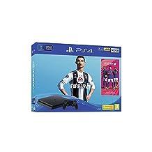 Sony PlayStation 4 Slim 500GB Console with FIFA 19 - Black